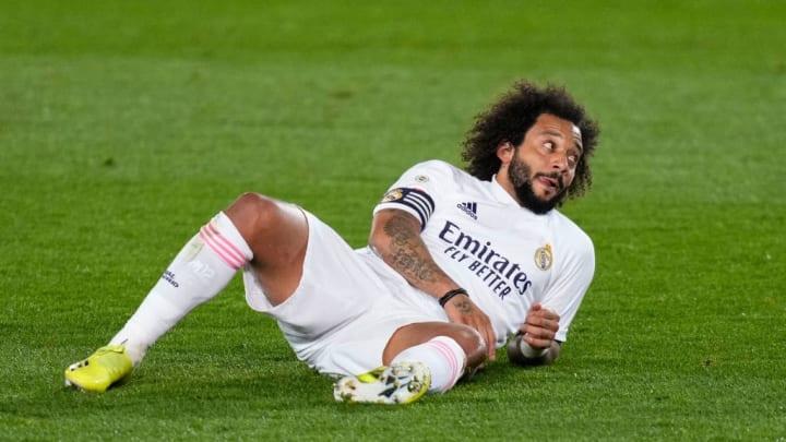Marcelo se retiró lesionado tras un gran partido ante el Getafe