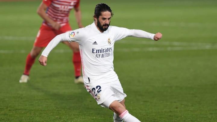 Isco ha perdido protagonismo en el Madrid
