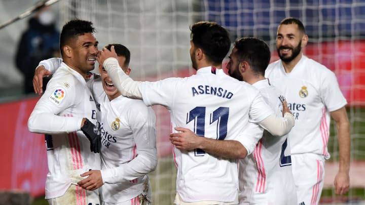 A 2-0 victory for Los Blancos