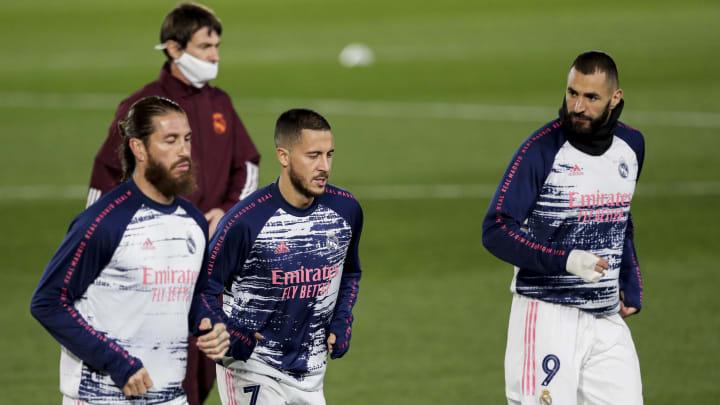 El Real Madrid tiene nueve lesionados