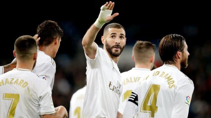 Hazard, Karim Benzema, Raphael Varane, Sergio Ramos
