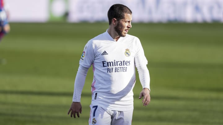 Hazard is out of action with another injury