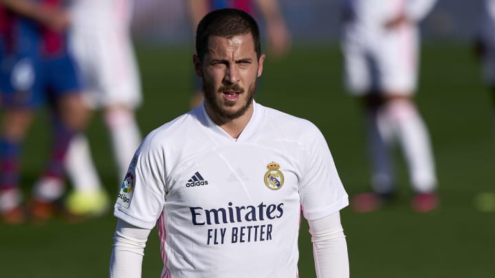 Hazard's Real Madrid career is going from bad to worse