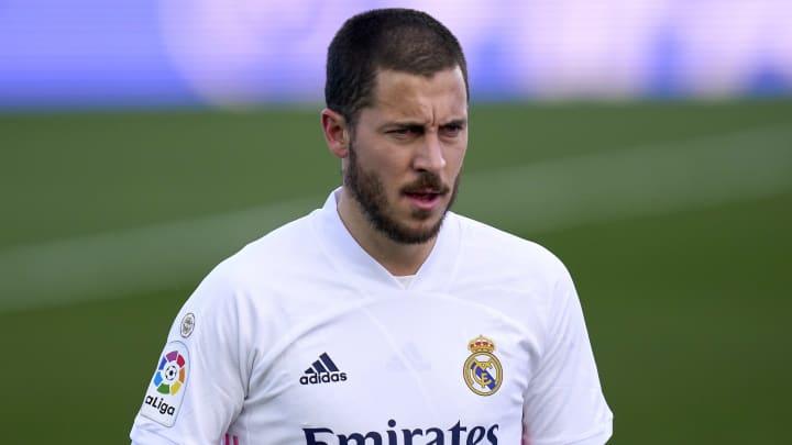 Eden Hazard n'a pas participé à l'entraînement du Real Madrid ce mardi