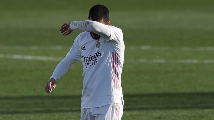 Eden Hazard kommt bei Real Madrid nicht in Schwung