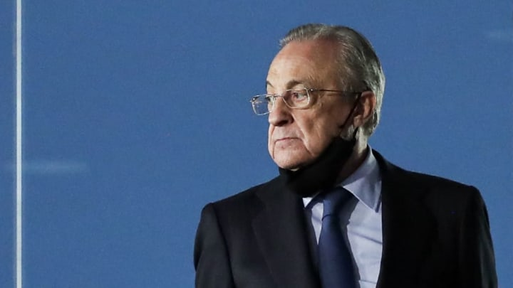 Florentino Perez discussed Real Madrid's transfer plans
