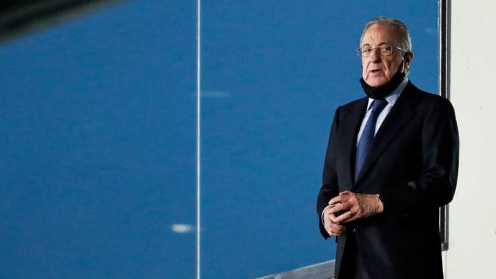 Florentino Pérez Superliga Europeia Real Madrid
