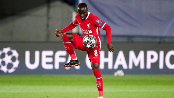 Naby Keita Liverpool RB Leipzig