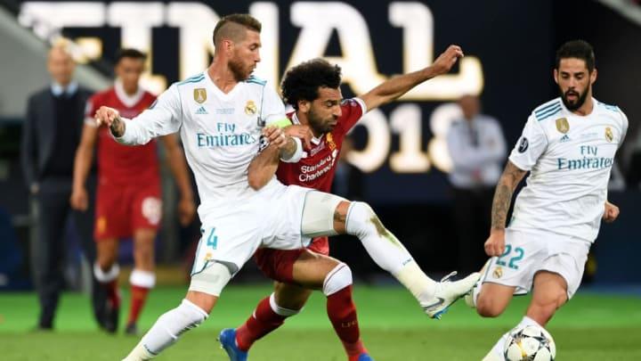 Mohamed Salah, Sergio Ramos, Liverpool, Real Madrid, Champions League