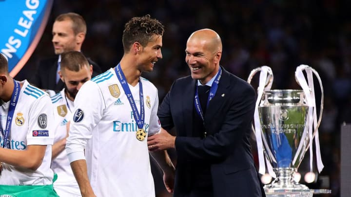Zinedine Zidane, Cristiano Ronaldo