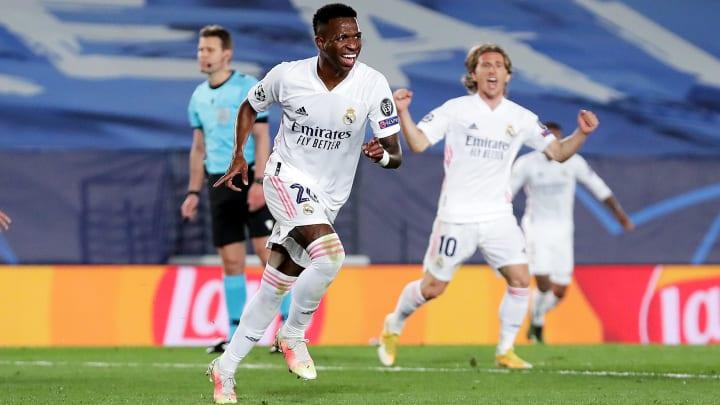 Grâce à Vinicius, le Real fait un grand pas vers les demi-finales