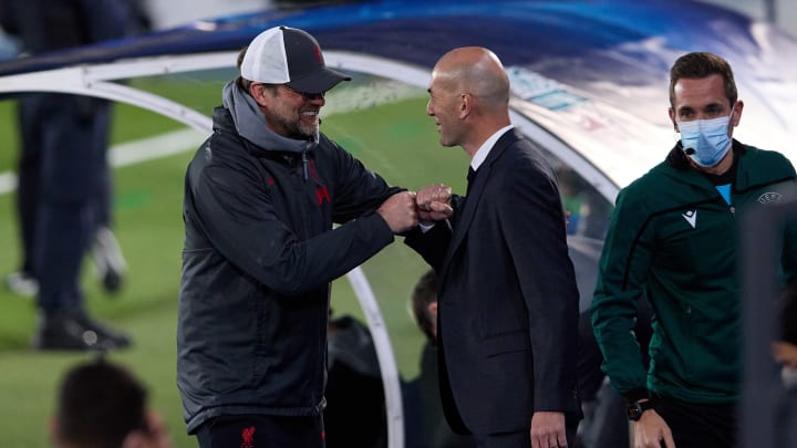 Jurgen Klopp and Zinedine Zidane are two of the best around