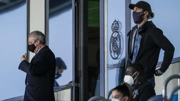 Florentino y Sergio Ramos no se pusieron de acuerdo