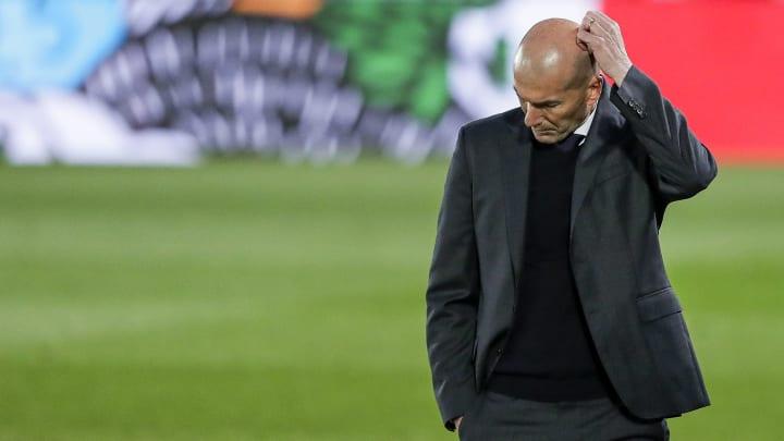 Zidane não vive uma grande fase em Madrid.