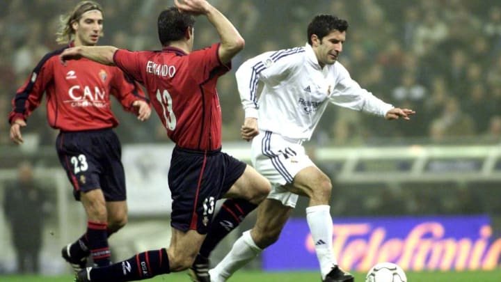 Real Madrid v Osasuna X