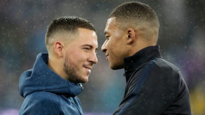 Kylian Mbappé pourrait prendre la place d'Eden Hazard cet été.