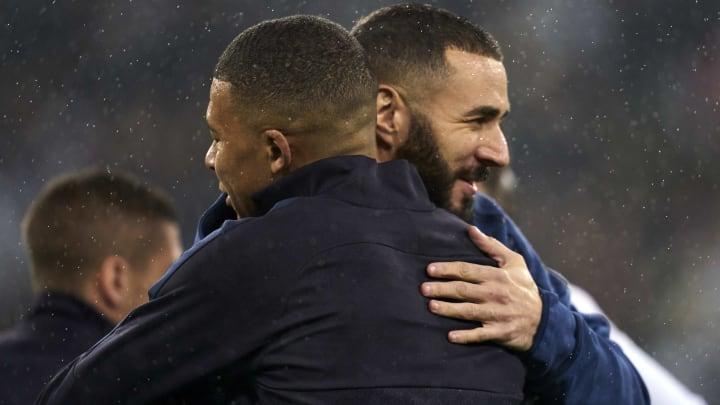 Karim Benzema et Kylian Mbappé lors de Real Madrid - PSG, il y a deux saisons.