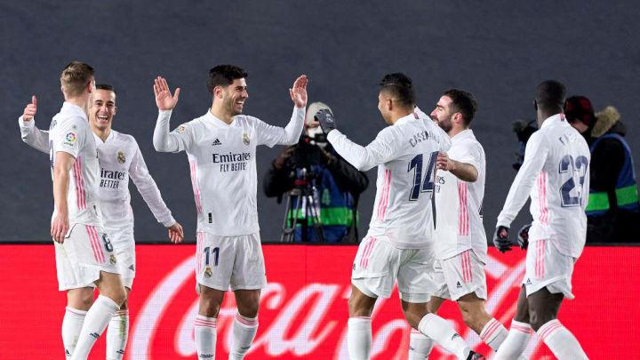 Marco Asensio fue clave en la victoria del Real Madrid