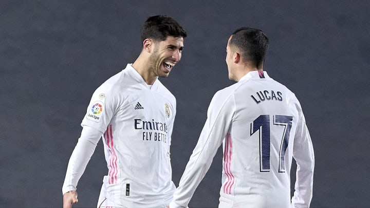 Lucas Vázquez y Marco Asensio