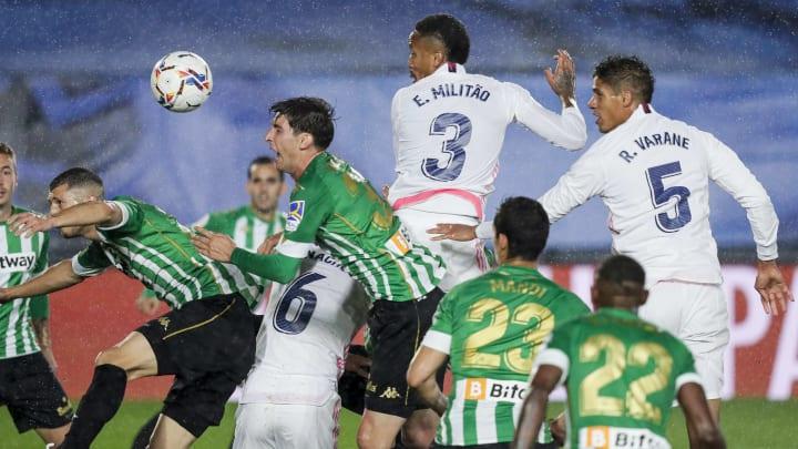 Real Betis empfängt Real Madrid.