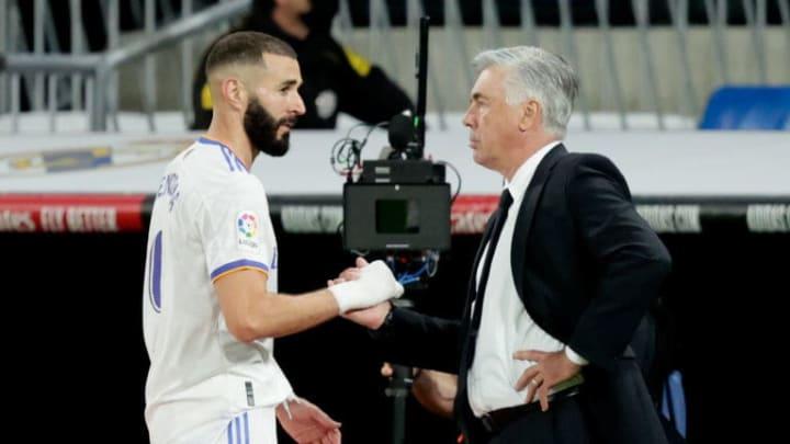 Carlo Ancelotti, Karim Benzema
