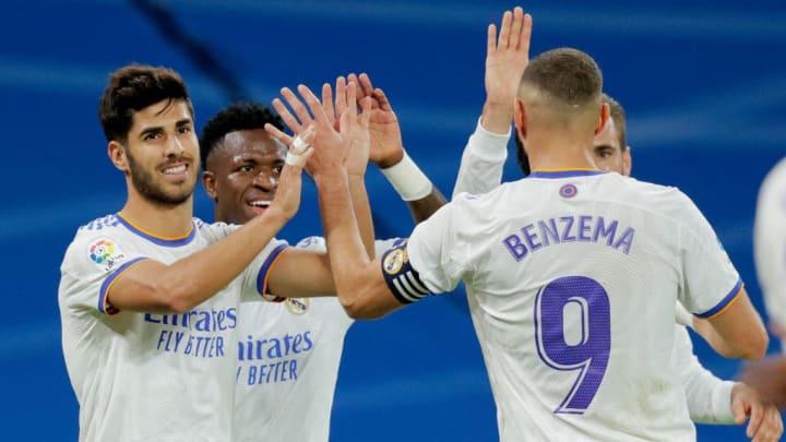 Karim Benzema, Marco Asensio, Vinicius Junior