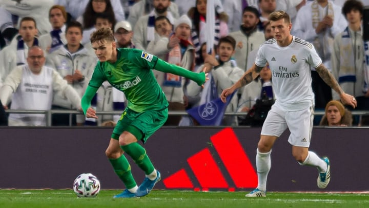 Martin Ødegaard will be determined to impress against his parent club