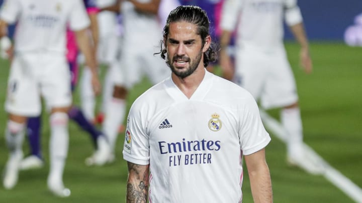 Isco is not in favour at Real Madrid, again