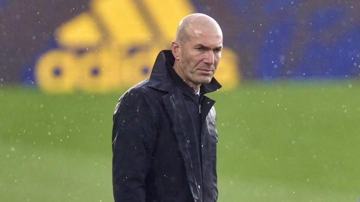 Zidane has been linked with taking over in Turin