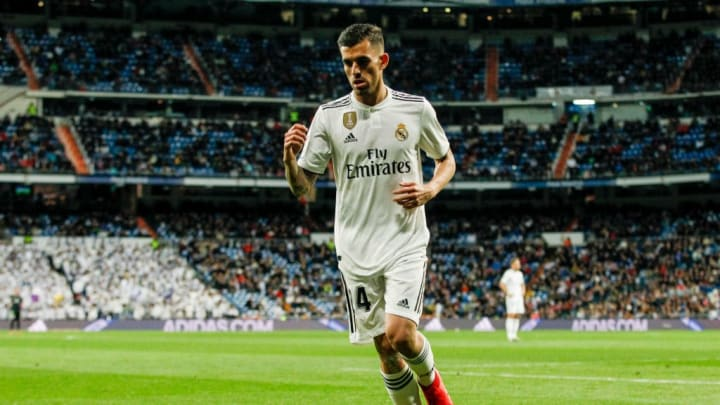 Ceballos during his time at Real Madrid