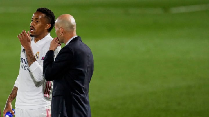Zinedine Zidane has used Eder Militao just twice in La Liga this season