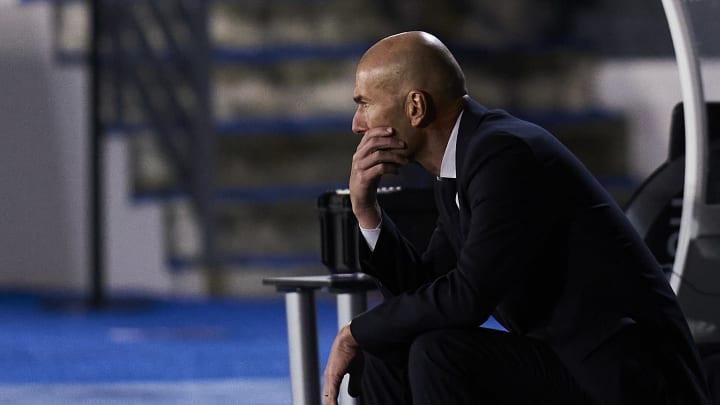Zidane en la cuerda floja