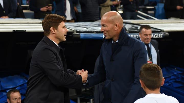 Beerbt der eine den anderen, falls dieser geht? Pochettino und Zidane (hier bei einem Champions League-Spiel zwischen den Spurs und Real Madrid)