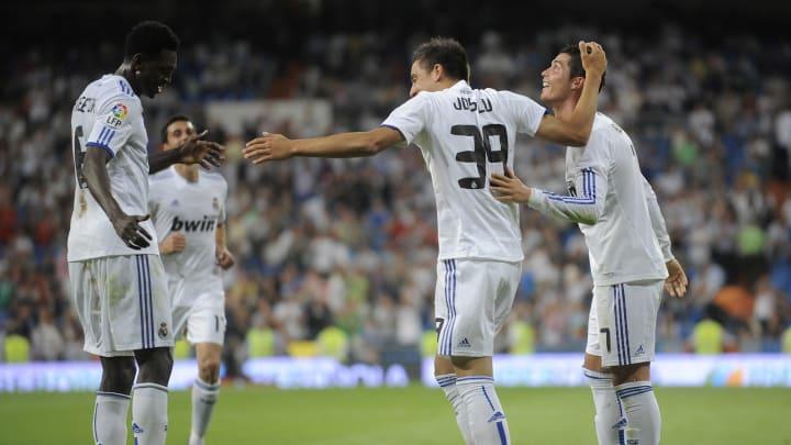 Joselu, Emmanuel Adebayor, Cristiano Ronaldo