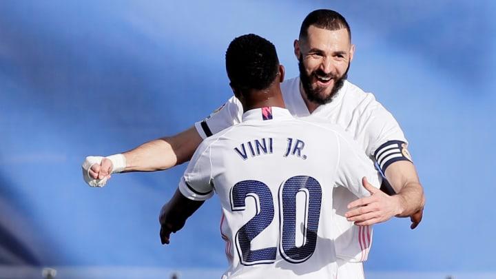 Vinicius affirme être soutenu par Benzema depuis son arrivée à Madrid