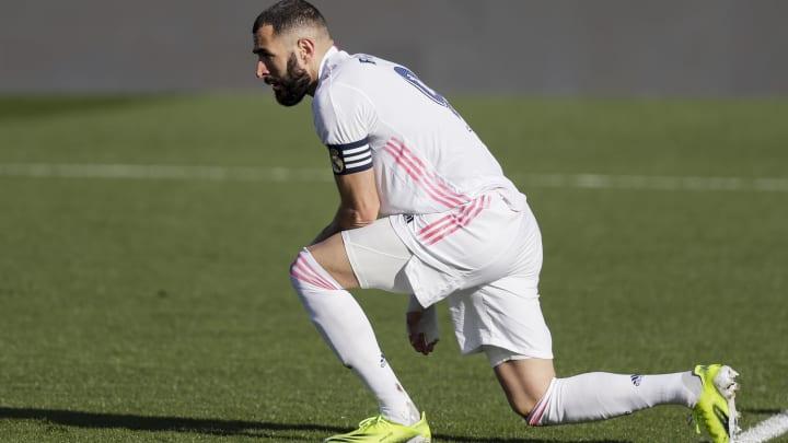 Karim Benzema blessé sera absent face à l'Atalanta, mercredi.