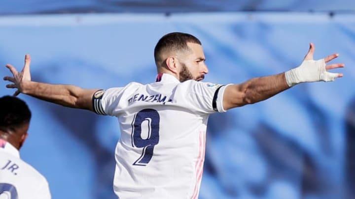 Benzema a inscrit son 12e but de la saison contre Valence