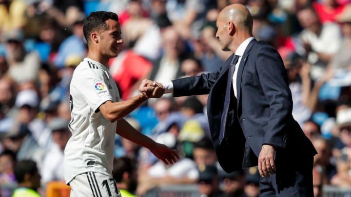 Lucas Vazquez, Zinedine Zidane