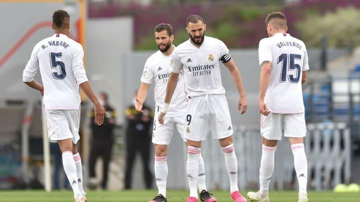 Karim Benzema, Federico Valverde, Raphael Varane, Nacho Fernandez