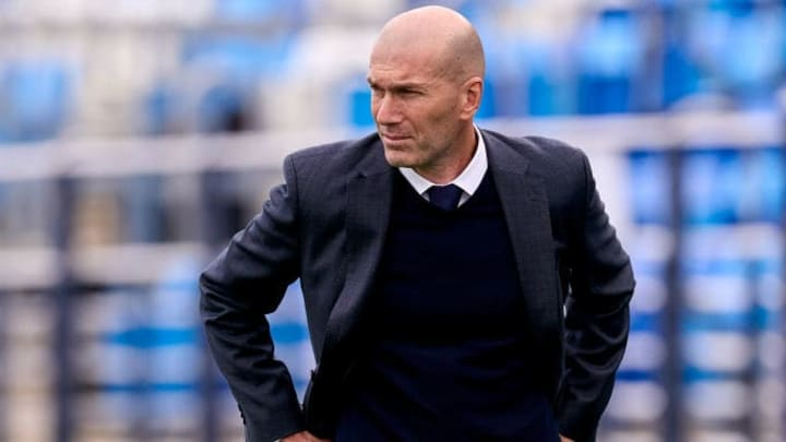 Zinedine Zidane dit au revoir au Real Madrid.