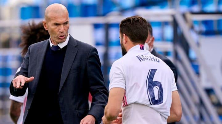 Nacho Fernandez, Zinedine Zidane