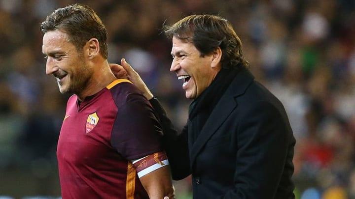 Rudi Garcia a été adoubé par la légende Francesco Totti lors de son passage à la Roma.