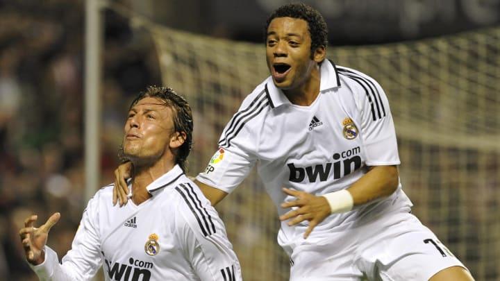 Real Madrid's Argentinian Gabriel Heinze