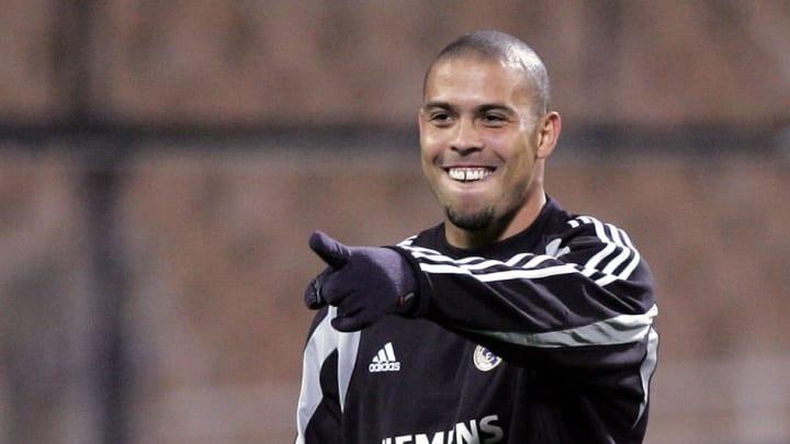 Real Madrid's Brazilian striker Ronaldo