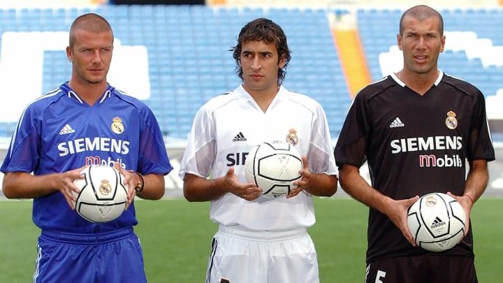 Real Madrid's British midfielder David B