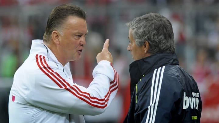 Van Gaal and Mourinho are two managers who were sacked by United for underachieving