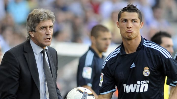 Real Madrid's Portuguese forward Cristia