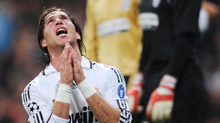 Real Madrid's Spanish defender Sergio Ra