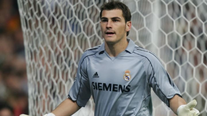 Real Madrid's goalkeeper Iker Casillas p