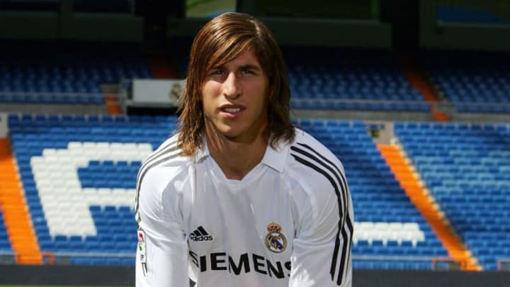 Real Madrid's new Spanish signing Sergio